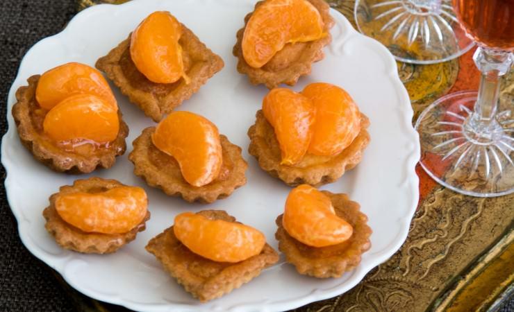 Mignardises oranje toetjes