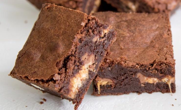 Brownies met je favoriete candybar!