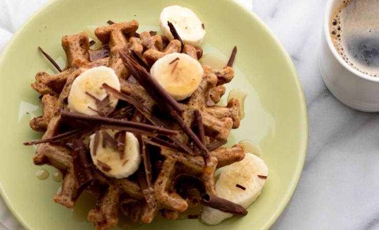 wafels bananenbrood
