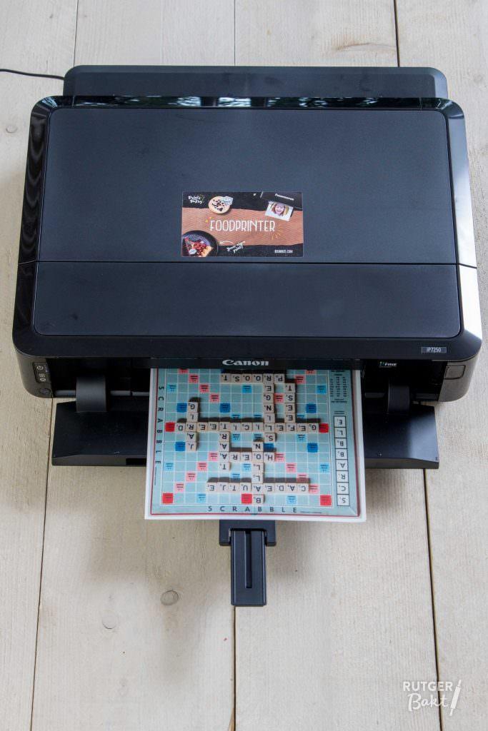 Eetbaar printen printer