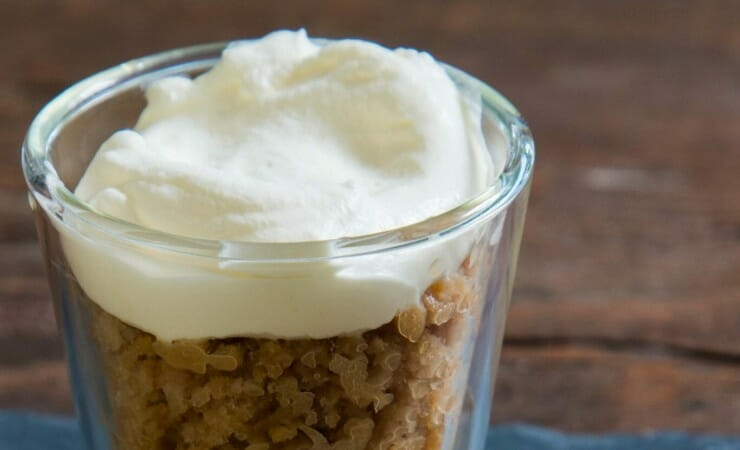 Granita van ijskoude latte machiatto – recept