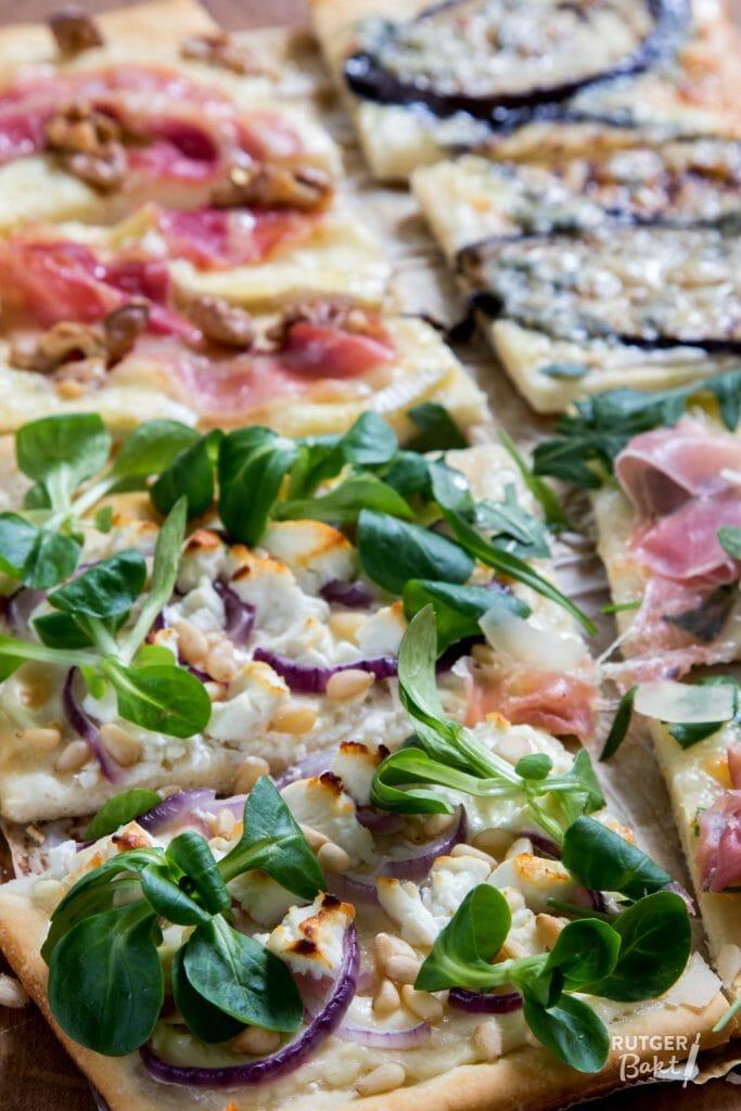 Pizza bianca vier soorten recept