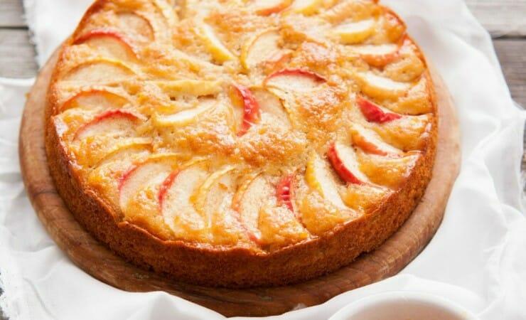 Frisse appelcake met yoghurt